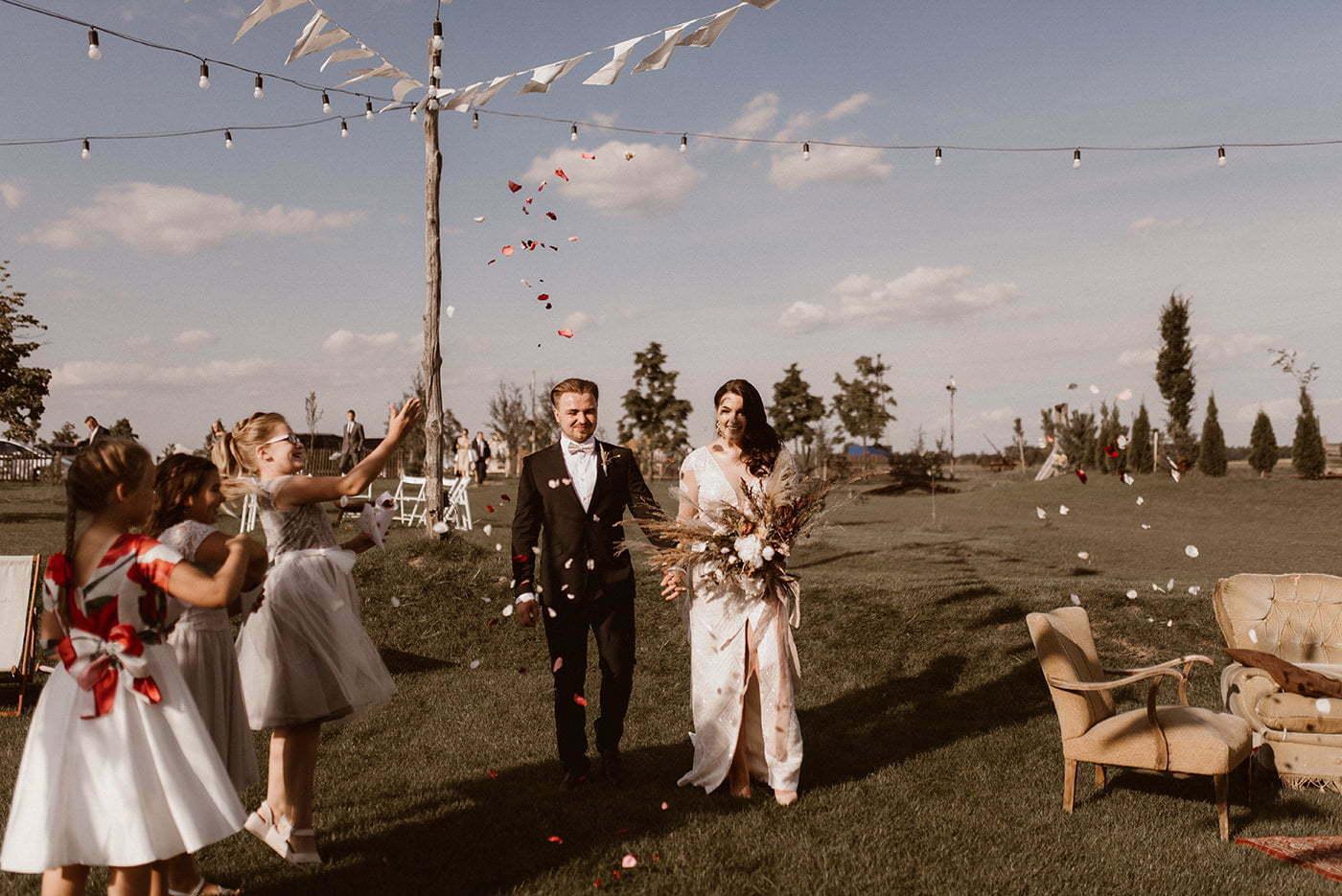 Rustykalne wesele w Folwarku Ruchenka