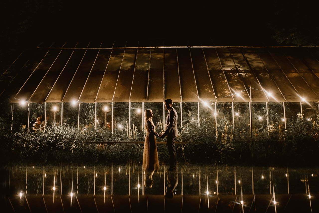 Rustykalne wesele w Starej Oranzerii w Mrokowie