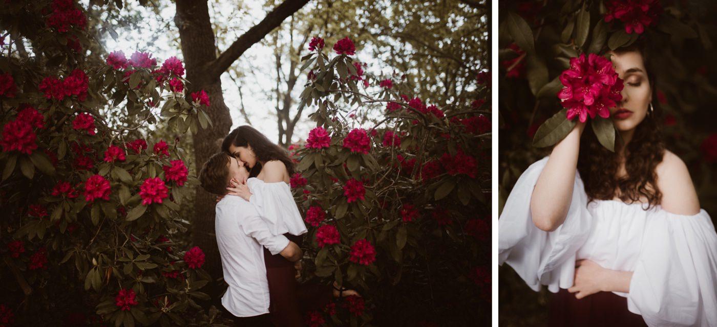 ewelina zieba sesja narzeczenska kwiaty warszawa 17