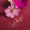 ewelina zieba tradycyjny album na zdjecia malinowy roz ze zlotym napisem milosc 12